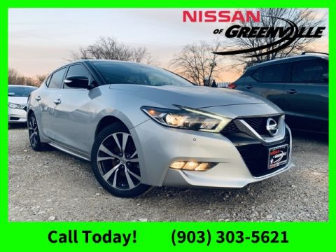 Pre-Owned 2017 Nissan Maxima 3.5 SV With Navigation