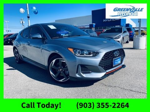 Certified Pre-Owned 2019 Hyundai Veloster Turbo FWD 3D Hatchback